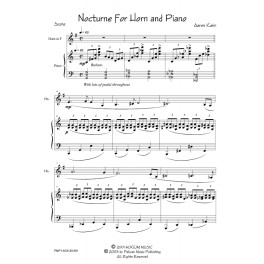Nocturne For Horn & Piano