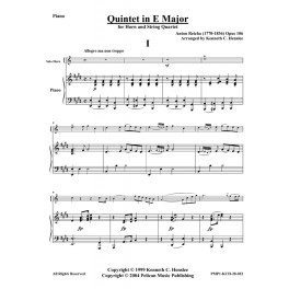 Quintet in E Major for Horn and Piano