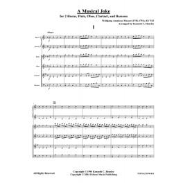A Musical Joke