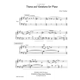 Theme and Variations for Piano