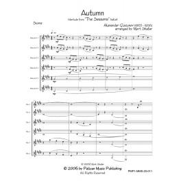 "Autumn Interlude from ""The Seasons"" ballet"