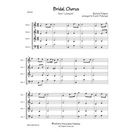 Bridal Chorus from Lohengrin - Horn