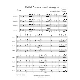 Bridal Chorus from Lohengrin - Jazz Trombone