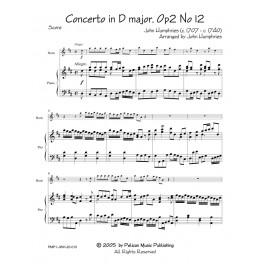 Concerto in D, Op 2 no. 12