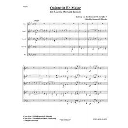 Quintet in Eb Major, H. 19