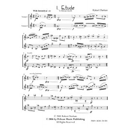Concert Etudes for Two Trumpets